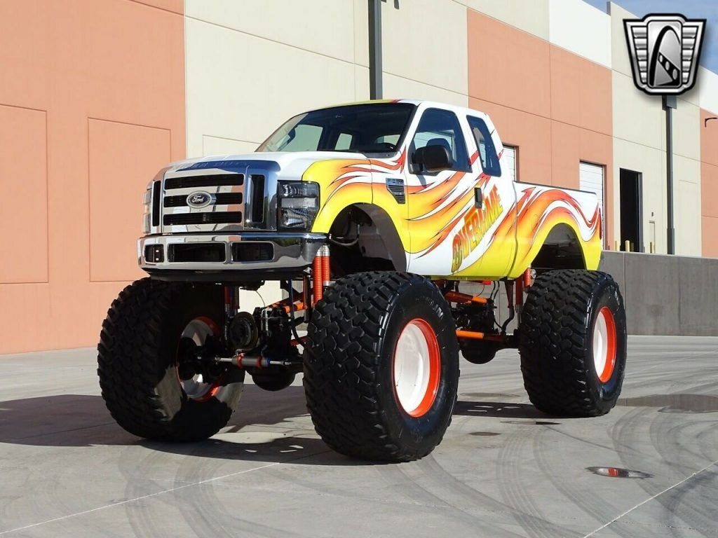 2008 Ford F-250 monster truck [5.4l Supercharged]