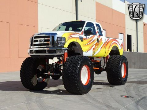 2008 Ford F-250 monster truck [5.4l Supercharged] for sale