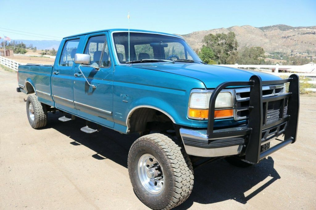 1994 Ford F-350 4×4 monster [well maintained]