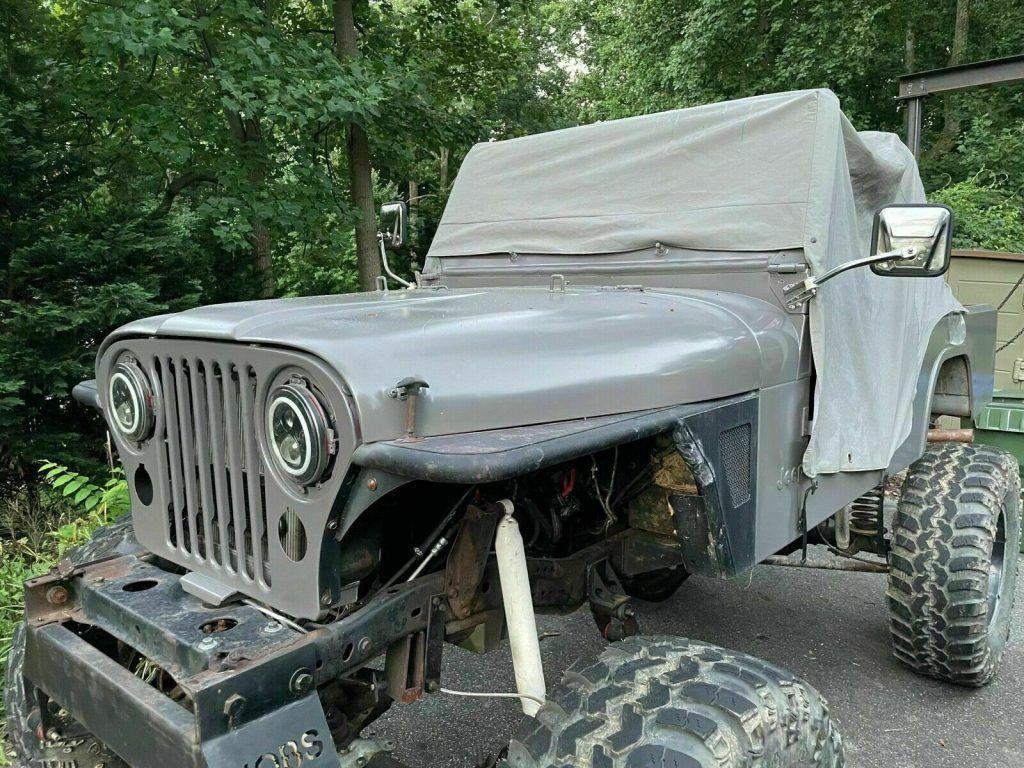 1980 Jeep Scrambler CJ8 monster [custom 16 inch lift]