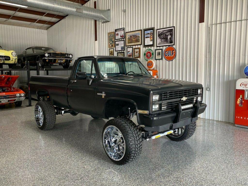 1983 Chevrolet C10 Scottsdale 20 monster truck [renewed]