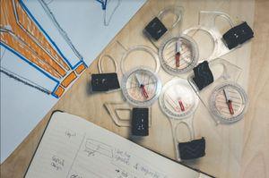 Tájfutás alapvető felszerelések