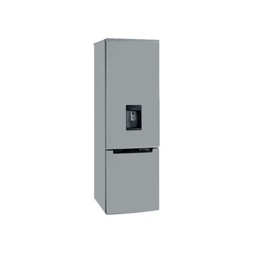 Kelvinator 270L Bottom Freezer Fridge Silver - KI380BFSD
