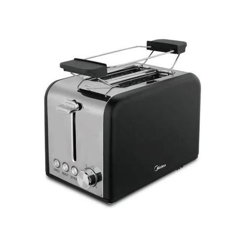 Midea 2 Slice Toaster with Toaster Rack Black - MT-RS2L13W-B
