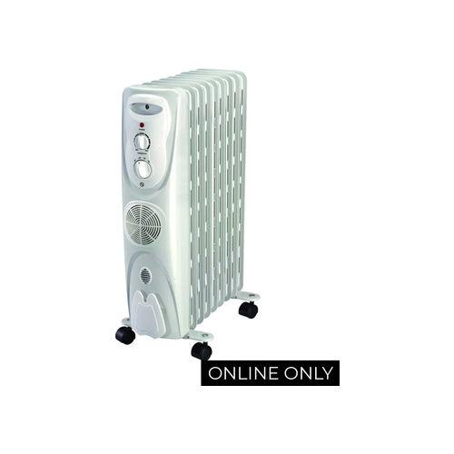 Midea 9 Fin Oil Heater - NY20ECF-9L
