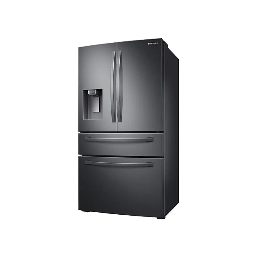 SAMSUNG 510L Nett Frost Free French Door Fridge With Water & Ice Dispenser - Black Stainless (Photo: 2)