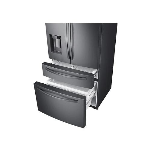 SAMSUNG 510L Nett Frost Free French Door Fridge With Water & Ice Dispenser - Black Stainless (Photo: 3)