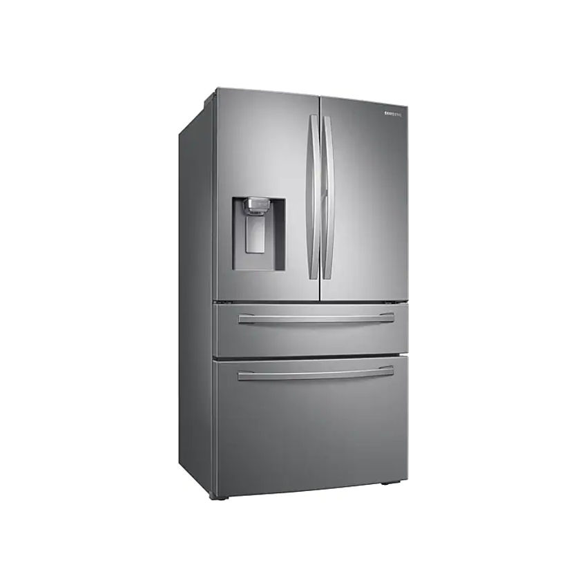 SAMSUNG 600l Nett Frost Free French Door Fridge With Auto Water And Ice Dispenser  - Real Stainless (Photo: 2)