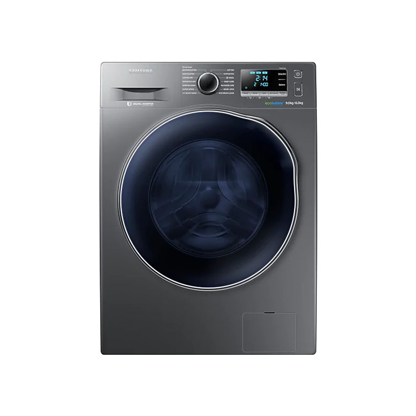 Samsung 9kg Washer 6kg Dryer with Eco Bubble Technology - WD90J6410AX (Photo: 2)