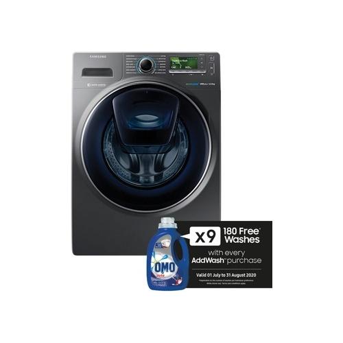 Samsung 12kg Front Loader Washing Machine with AddWash - WW12K8412OX