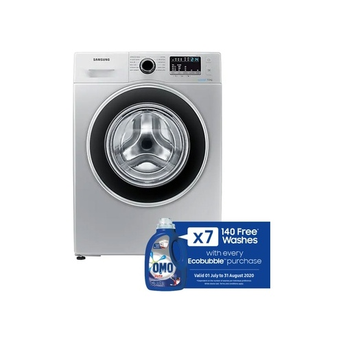 Samsung 7kg Front Loader with Eco Bubble Technology - WW70J4263GS