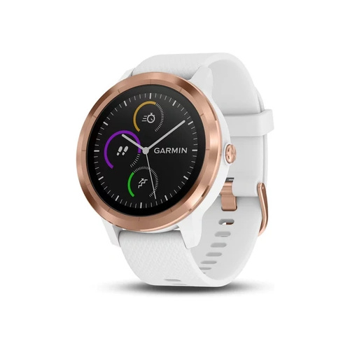 Garmin Vivoactive 3 GPS Smartwatch Rose Gold White
