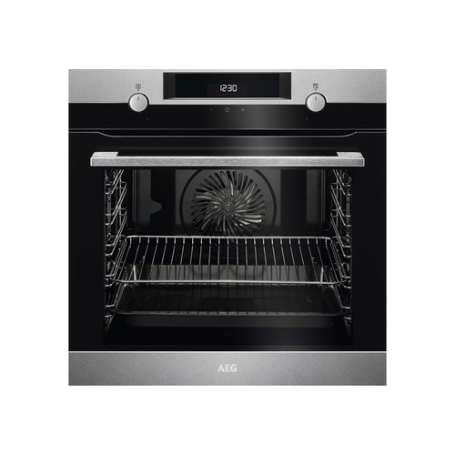 Aeg 60cm 72L Electrical Eye-Level Oven Stainless steel - BEK435220M