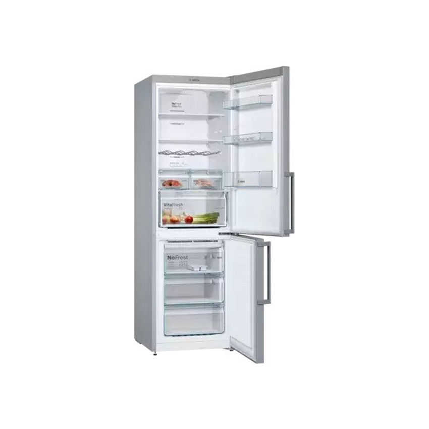 Bosch 324L Bottom Freezer Fridge Stainless steel (Photo: 2)
