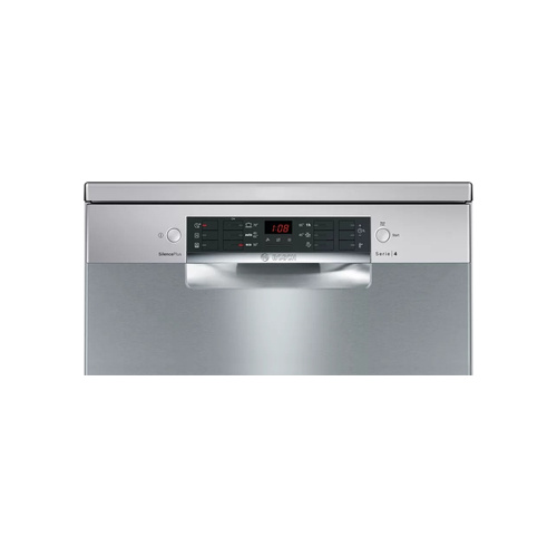 Bosch - Serie | 4 Freestanding Dishwasher 60cm Stainless steel, lacquered - SMS46NI00Z (Photo: 2)
