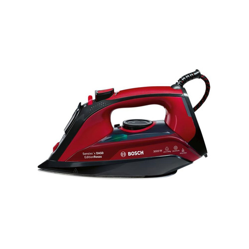 BOSCH Steam Iron 3000W - Red Black