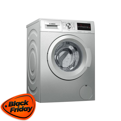 Bosch 8kg Front Loader Washing Machine Silver - WAK2426SZA