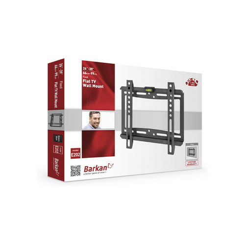 """Barkan Fixed wall mount for screens up to 39"""" - BRAE202"""