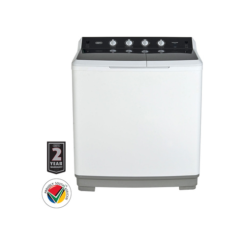 Defy 15kg Twin Tub White - DTT152