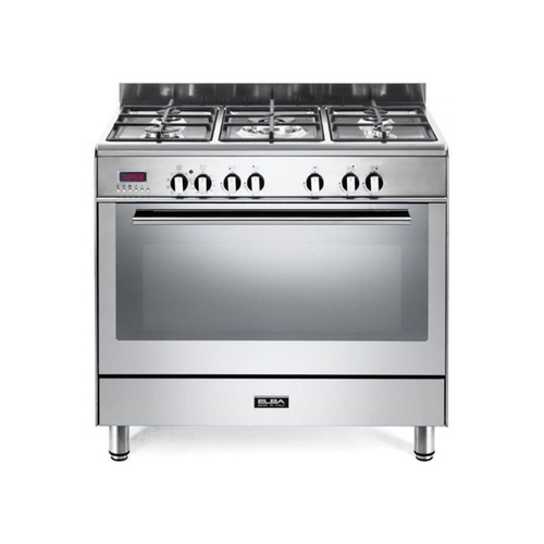 Elba 90cm Fusion Stainless Steal Gas Cooker / Electric Oven