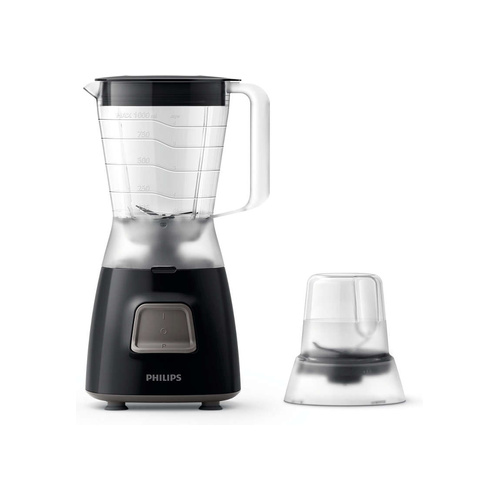 Philips Daily Collection 450W Blender With Mill - Black
