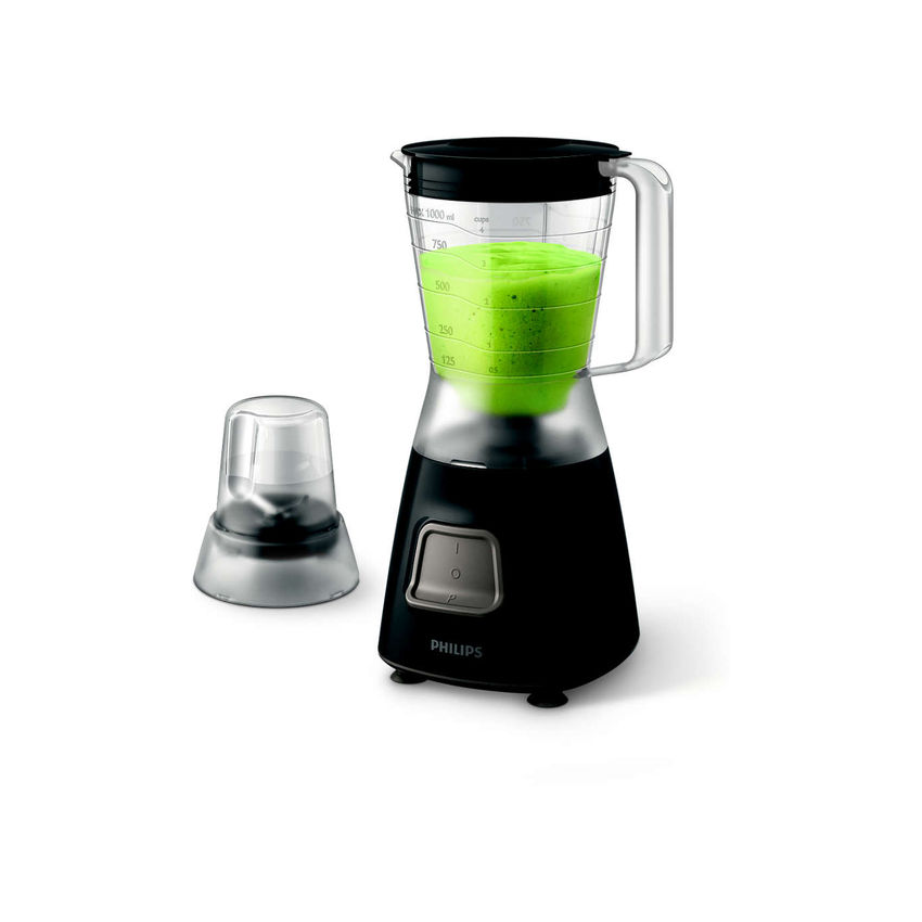 Philips Daily Collection 450W Blender With Mill - Black (Photo: 2)