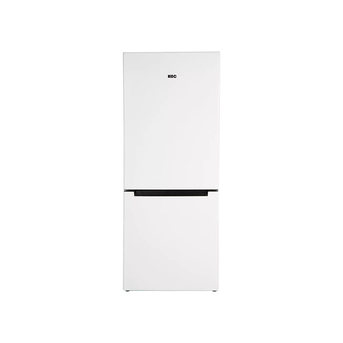 KIC Bottom Freezer Fridge Direct Cooling White