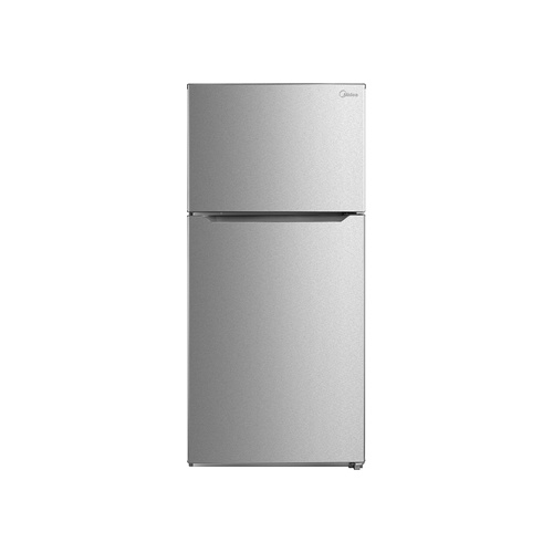 Midea 652L Classic Top Freezer - Stainless Steel