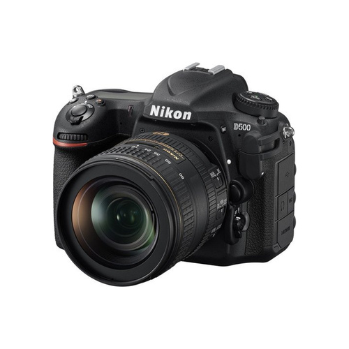 Nikon D500 DSLR Camera with 16-80mm VR Lens