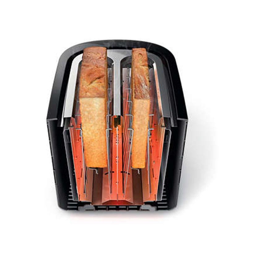Philips Viva Collection Toaster Black (Photo: 4)