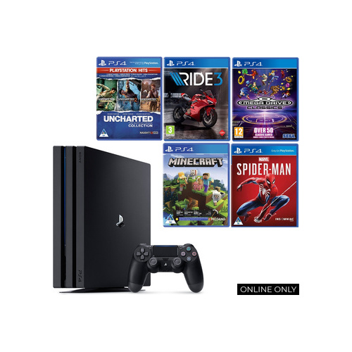 Playstation PS4 Pro Bundle