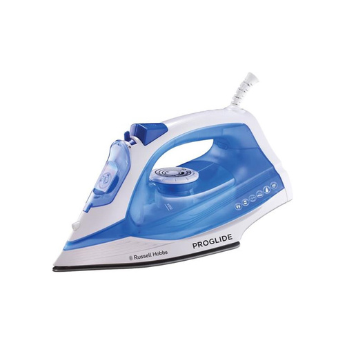 Russell Hobbs Pro-Glide 2200W Steam, Spray, Dry Iron - Blue/White