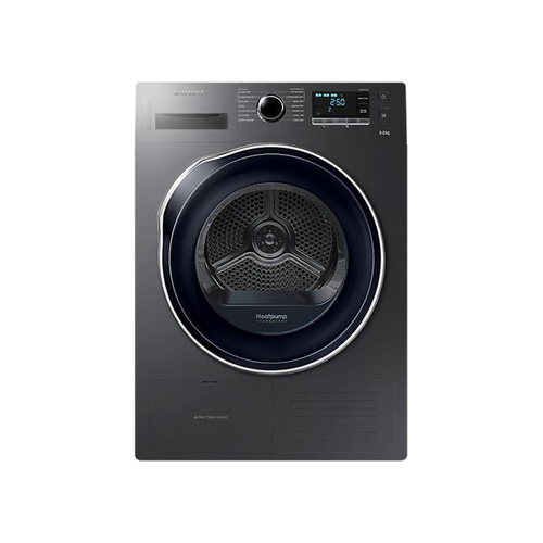 Samsung 9kg Heat Pumped Tumble Dryer Silver - DV90K6000CX