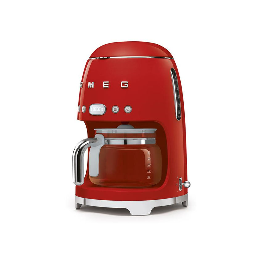 Smeg 50's Style Retro Drip Filter Coffee Machine - Glossy Red (Photo: 2)