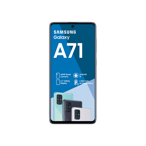 Samsung 128GB Galaxy-A71 DS Black - SM-A715FZKU