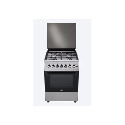 Totai 4 Gas Burner With Electric Oven - Stainless Steel