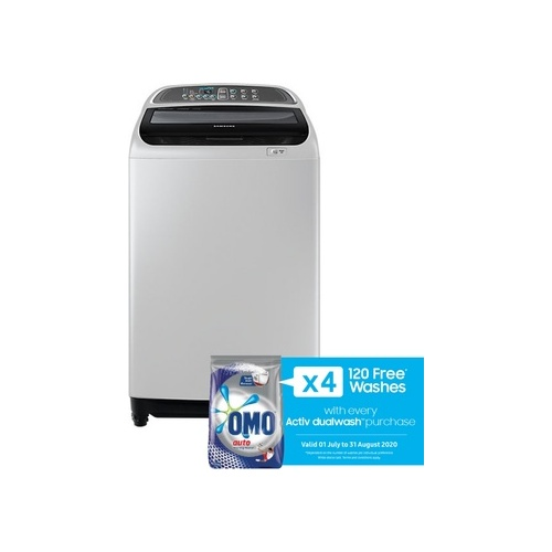 Samsung 13kg Top Loader Washing Machine with Wobble Technology - WA13J5710SG