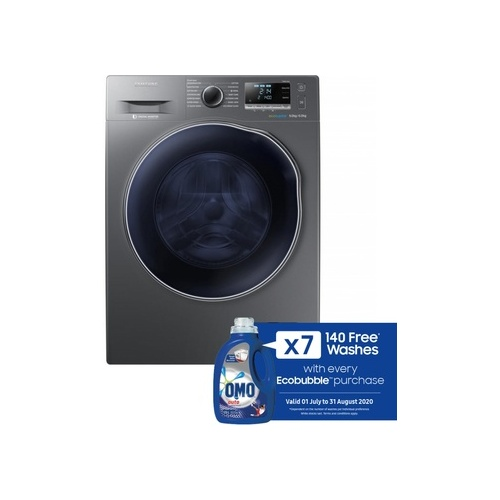 Samsung 9kg Washer 6kg Dryer with Eco Bubble Technology - WD90J6410AX