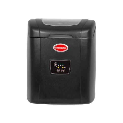 Snomaster 12 Kg Portable Ice Maker-black