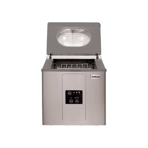 Snomaster 15 Kg Portable Ice Maker-stainless Steel