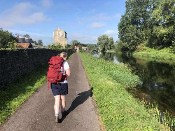 Bagenalstown towpath on the Barrow