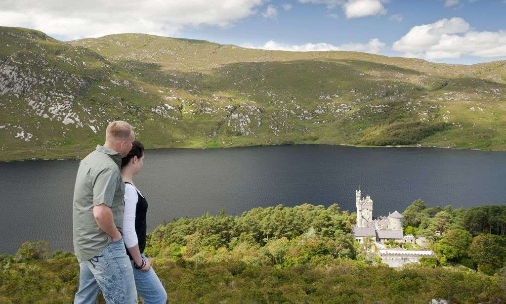 Glenveagh national Park Hikers