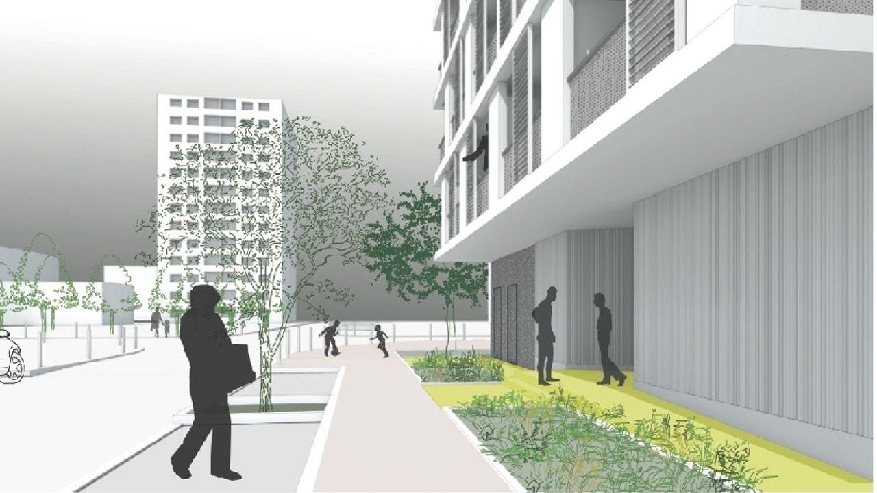 Photo du projet Démolition et Construction neuve d'une résidence sociale de 50 logements
