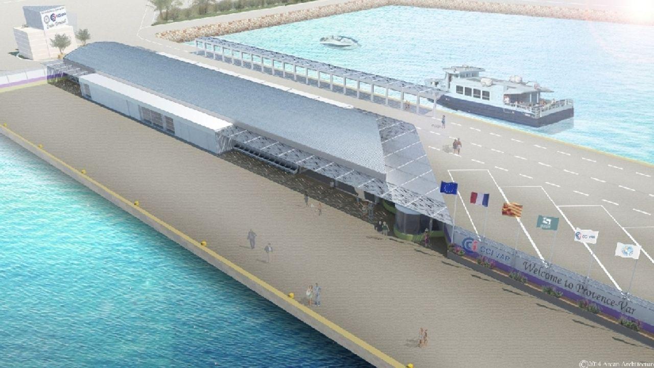 Photo du projet Aménagements portuaires Terminal croisière - Môle d'armement la Seyne-sur-mer