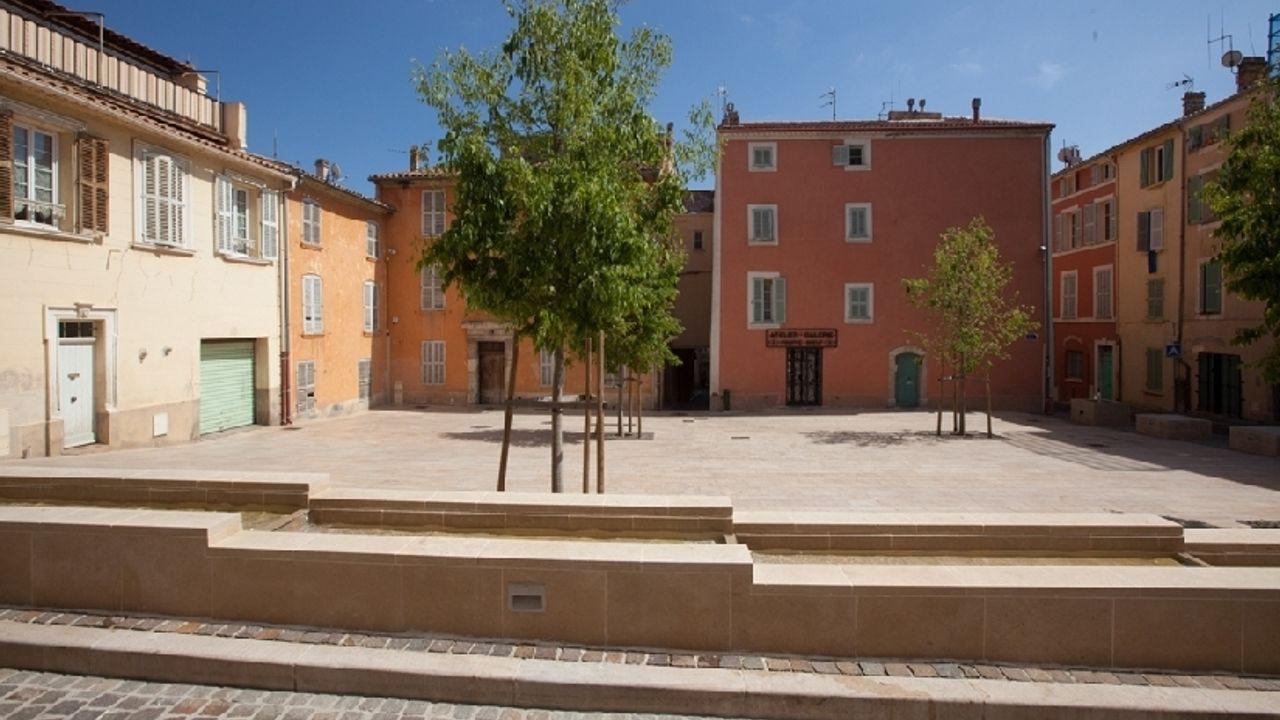 Photo du projet Renouvellement urbain du centre-ville de Hyères