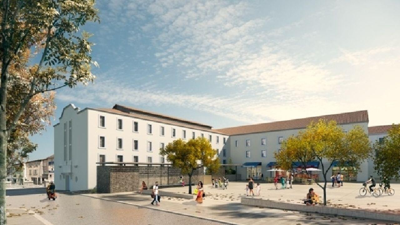 Photo du projet Renouvellement urbain du centre-ville de Brignoles (83)