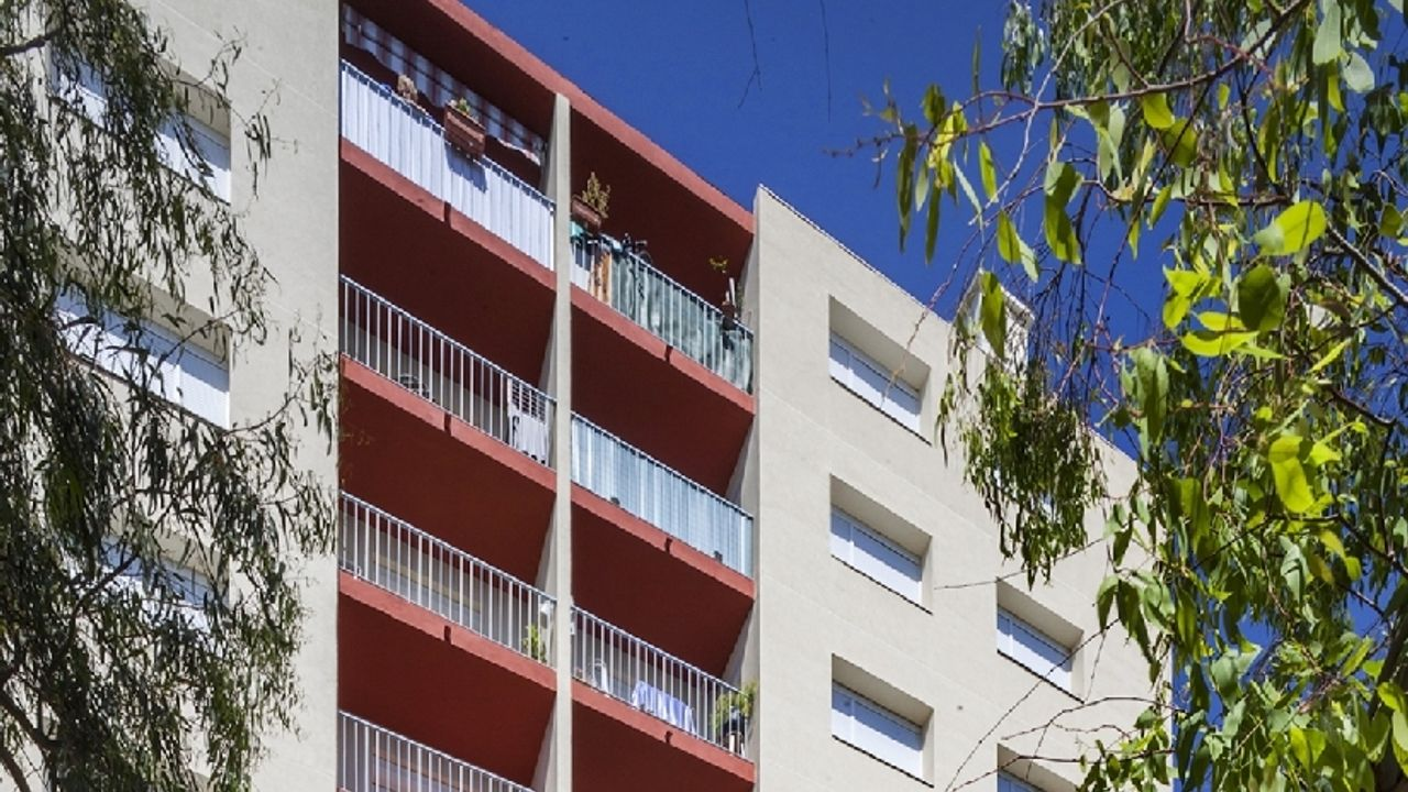 Photo du projet Réhabilitation de 238 logements au groupe d'habitation « Le Mont des Oiseaux » à La Seyne sur Mer