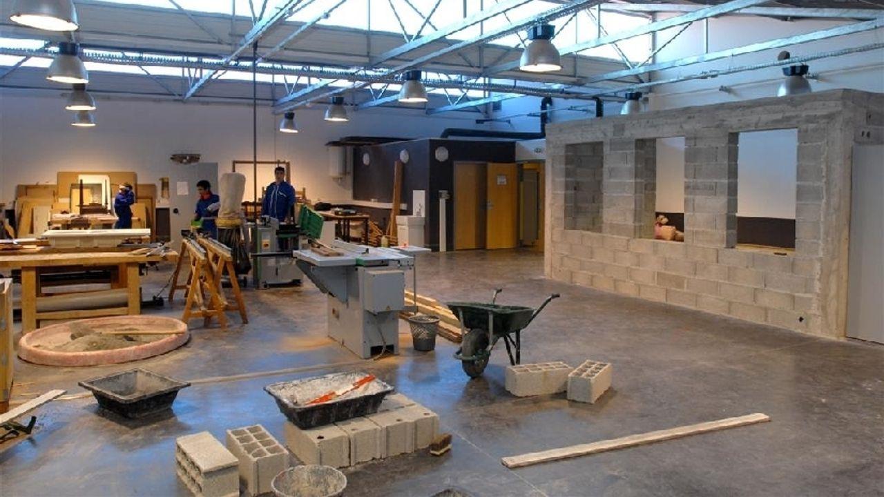 Photo du projet Réhabilitation et extension du collège Gérard Philipe à Cogolin