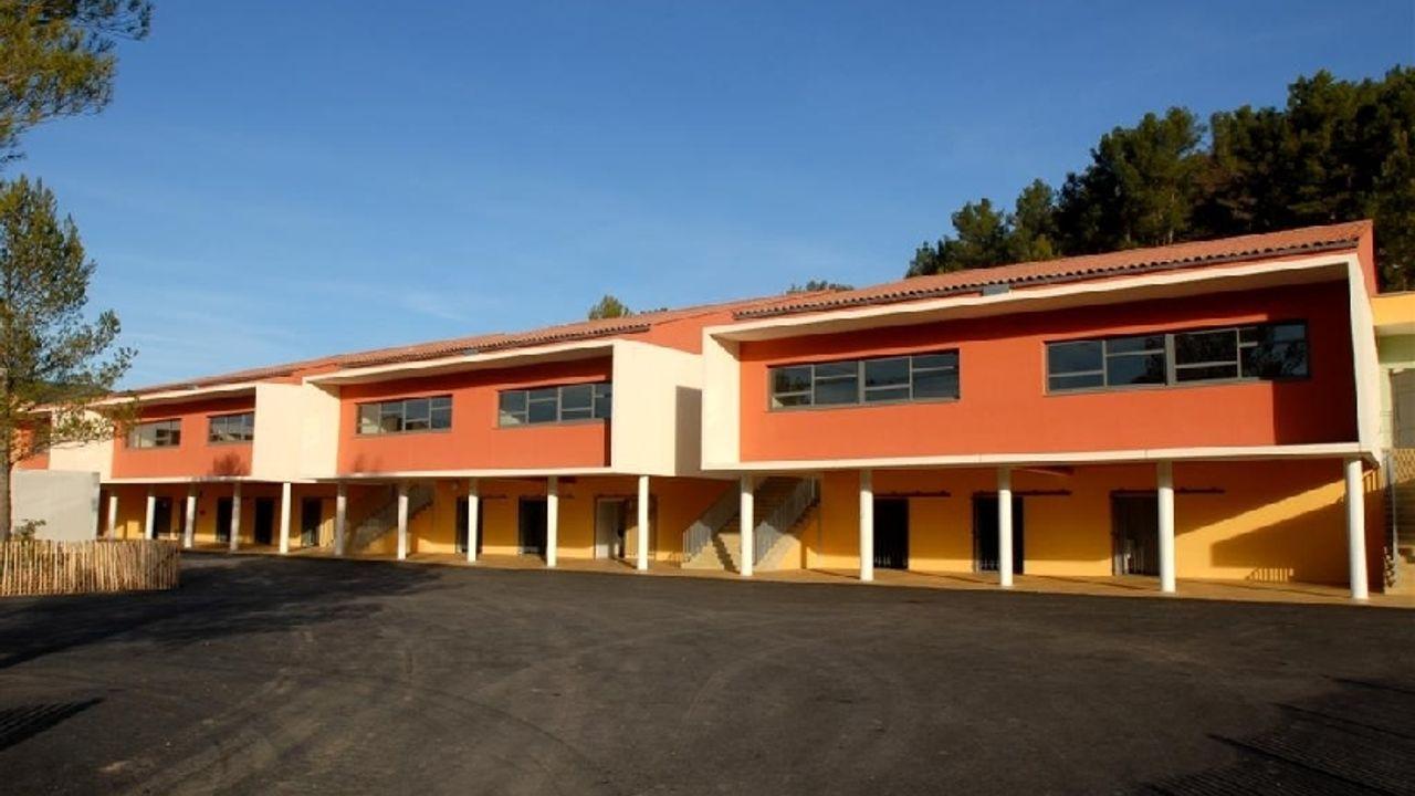 Photo du projet Construction d'un collège certifié HQE ® à Saint Zacharie