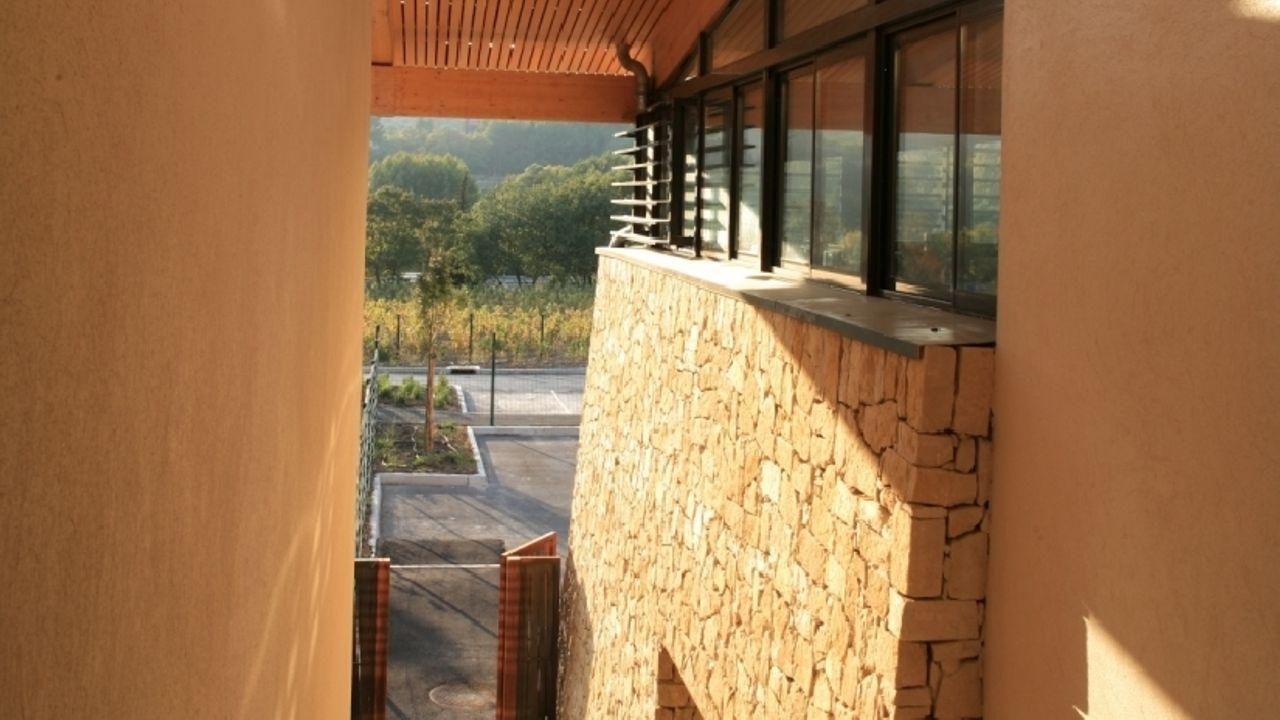 Photo du projet Construction d'un collège et d'un gymnase multisports au Castellet